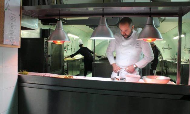 Vito Pastore executive chef della Dimora Storica Castello Chiola e del ristorante L'Antico Torchio