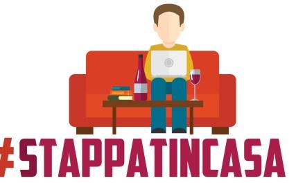 Stappatincasa , il vino per affrontare #iorestoacasa