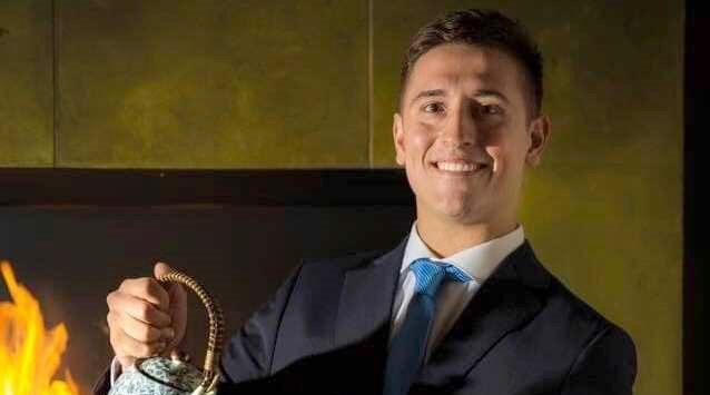 Gabriele Bianchi vincitore del  Emergente di Sala 2019