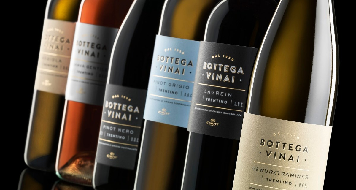 Cavit presenta il restyling di Bottega Vinai