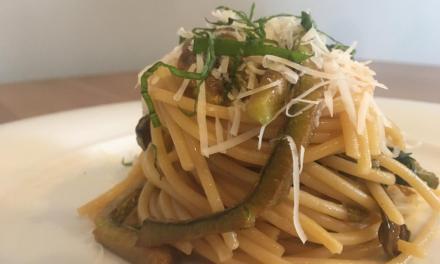 Spaghetti alla Nerano by Guido Perino