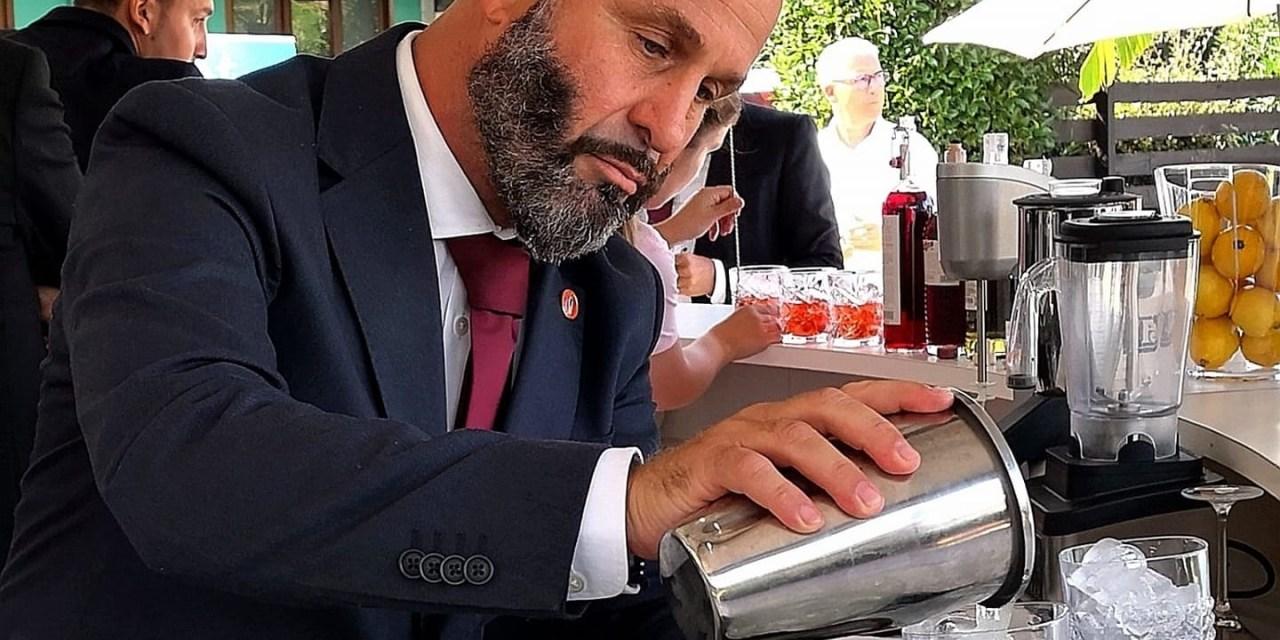Luca Azzolina e il suo FPB Formatore per Barmen