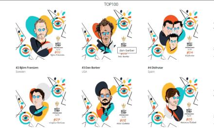 La classifica dei 100 migliori chef al mondo