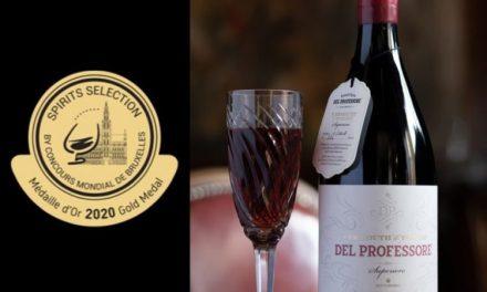 Medaglia d'Oro per il Vermouth di Torino Superiore al Barolo Del Professore al Concours Mondial de Bruxelles – Spirit Selection 2020