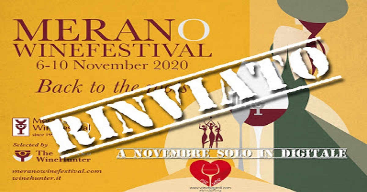 A marzo 2021 il Merano Wine Festival in presenza