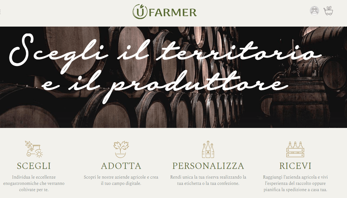 UFarmer, il primo marketplace della DOP e DOC Italiana