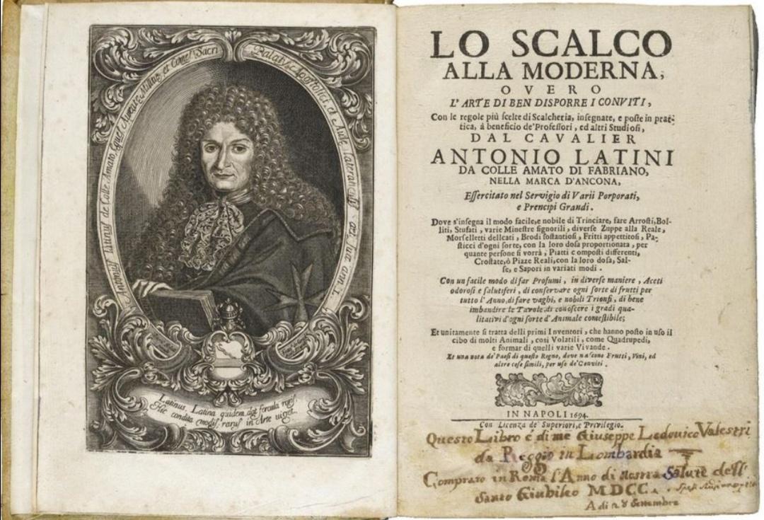 pastiera del 1693_antonio latini