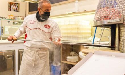 Gianni Improta, la sua pizzeria al 22  e la pizza mutanda