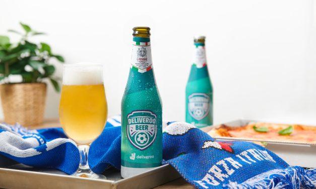 Deliveroo lancia una birra speciale per i tifosi azzurri
