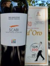 Scabi rosso Sangiovese superiore tra i Vini dell'Amarcord.