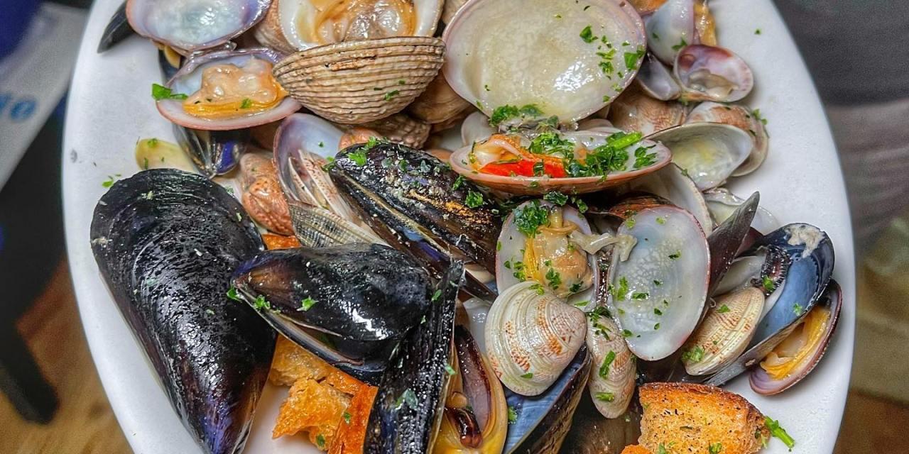 A Caiazzo – il piatto di pesce nato dalla collaborazione MariAno Bruno-Franco Pepe