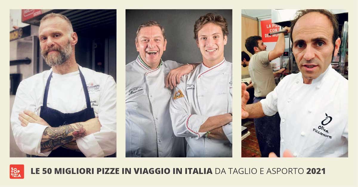 50 Top Pizza: le 50 migliori pizze in viaggio in Italia 2021