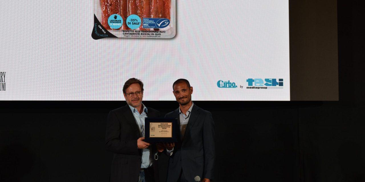 Nuovo riconoscimento per Rizzoli Emanuelli: le Alici fresche del Mar Cantabrico si aggiudicano il prestigioso Award di Tespi Mediagroup 2021