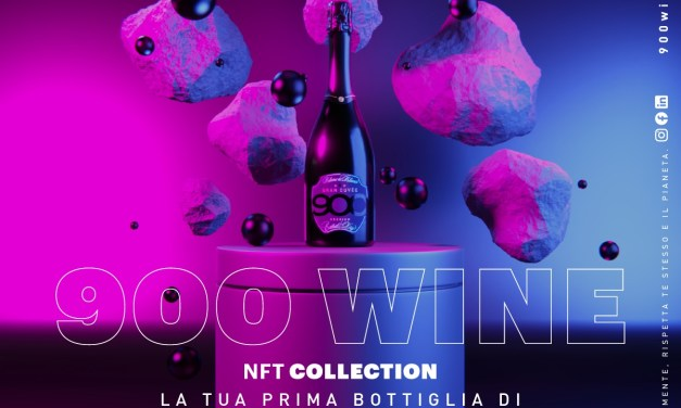 NFT 900wine Collection: 900 pezzi unici di digital art in 3D in edizione limitata