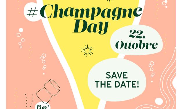 Save the date: lo Champagne day è fissato al 23 ottobre!