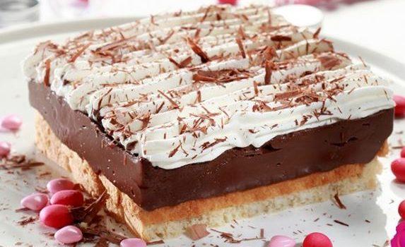 εκμέκ σοκολατόπιτα