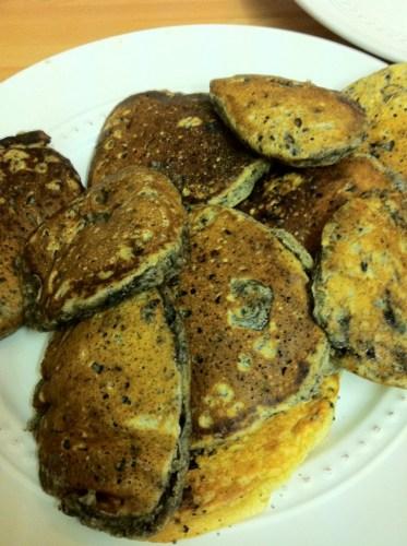 Double Stuff Oreo Pancakes Stack