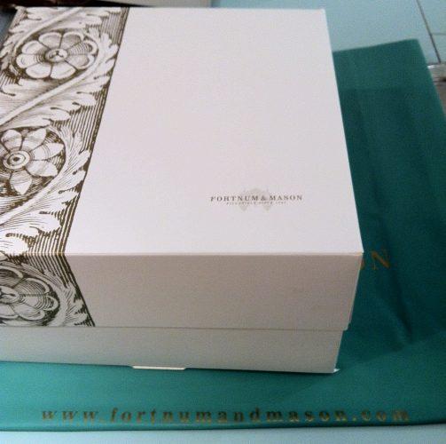 Fortnum and Mason Cake Box