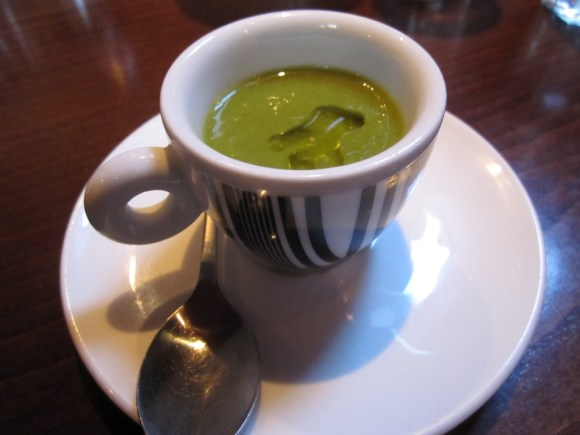 Watercress and White Truffle Oil Soup
