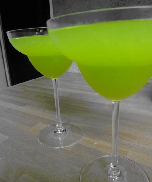 Frozen Melon Daiquiris