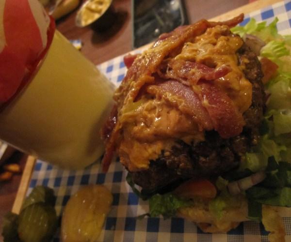 The Wrong Burger, at The Hobgoblin, Bristol