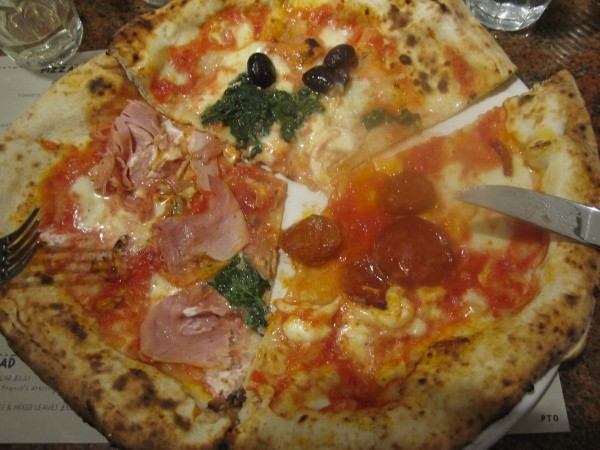 Franco Manca Pizza, Balham, London