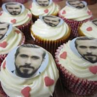 So Cute I Could Eat Him {Recipe – Ryan Gosling Cupcakes}