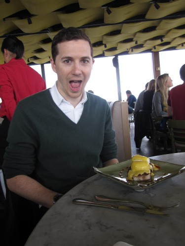 FoodNerd's Bro at Duck and Waffle, London