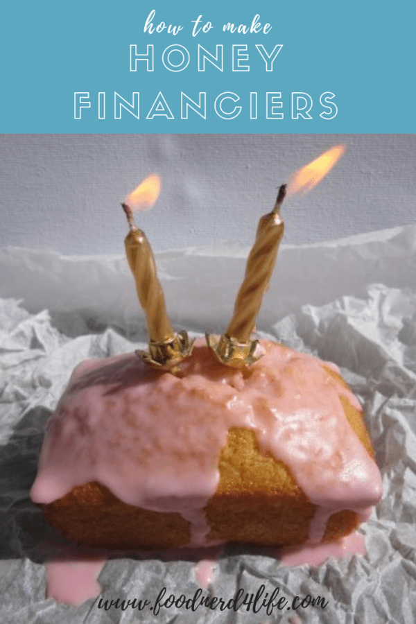 Honey Financier Pin