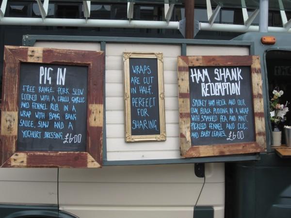 Pig Menu at The Cauldron, Bristol