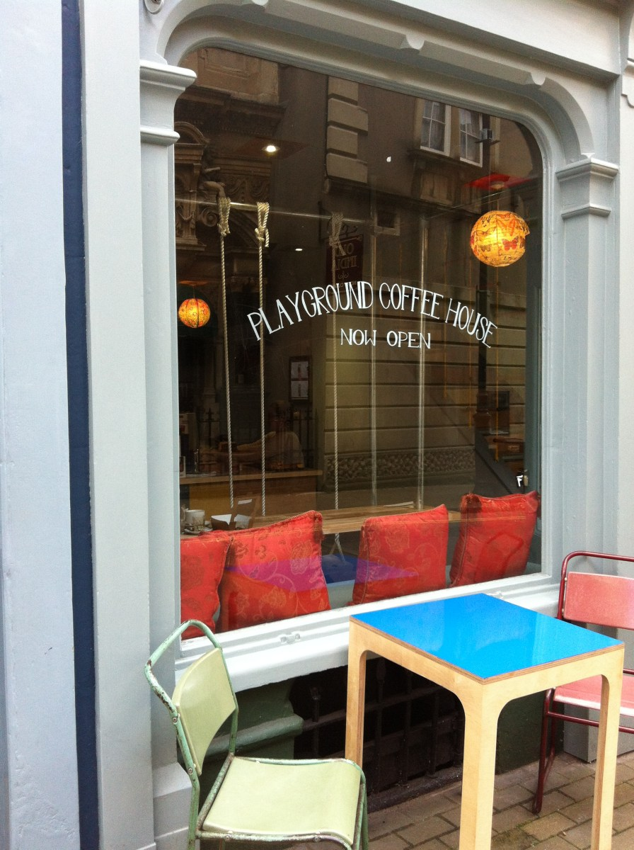 Playground Rules {Review - Playground Coffee House, Bristol}