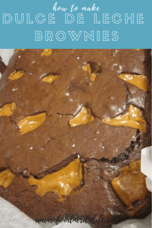 Dulce de Leche Brownies Pin