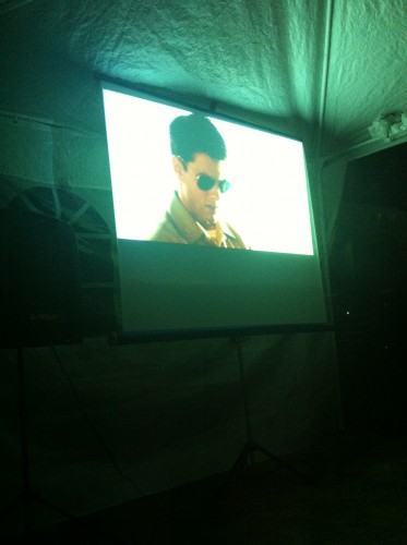 Outdoor Screening of Top Gun