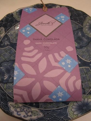 Jordi's Dark Chocolate 60% with Candied Orange