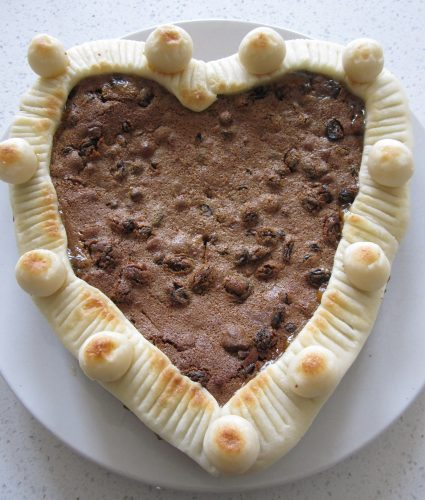 Decorated Simnel Cake