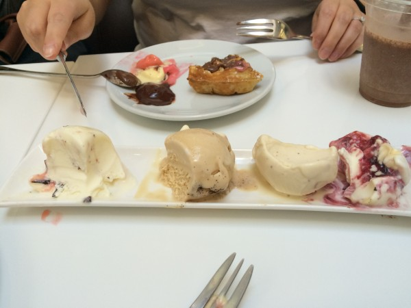 Gelato at Snowflake, Soho, London
