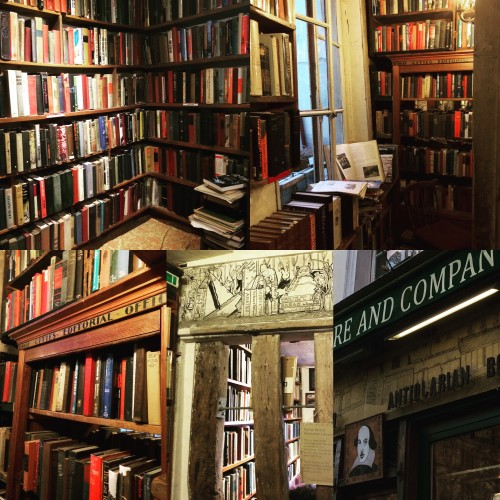 Shakespeare and Company Book Shop in Paris