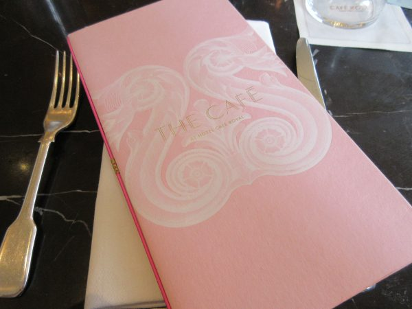 Dessert Bar at Cafe Royal, London