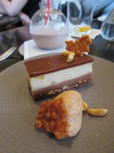 Eat Me, Drink Me Snickers at Dessert Bar at Cafe Royal, London