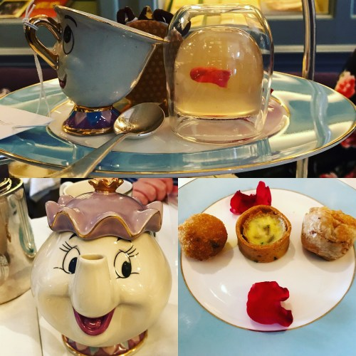 Beauty and The Beast Afternoon Tea Food Collection