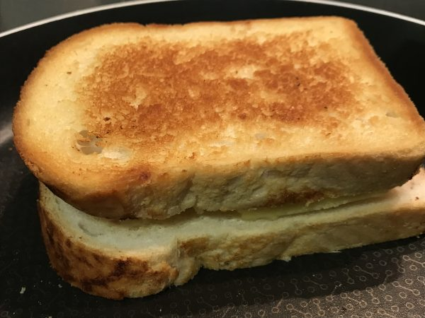 Grilled Cheese in Pan