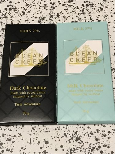 Ocean Creed Chocolate Bars
