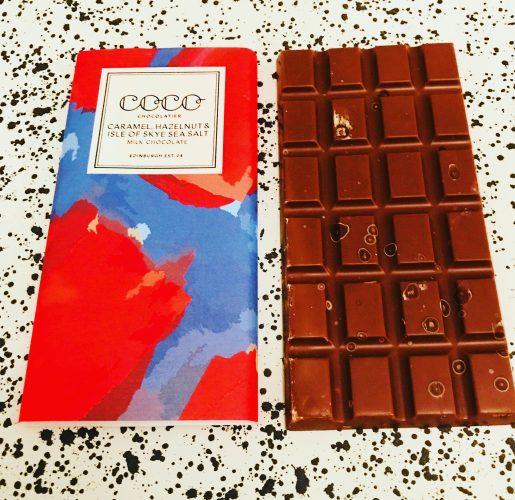 Coco Chocolatier Caramel, Sea Salt and Hazelnut Chocolate