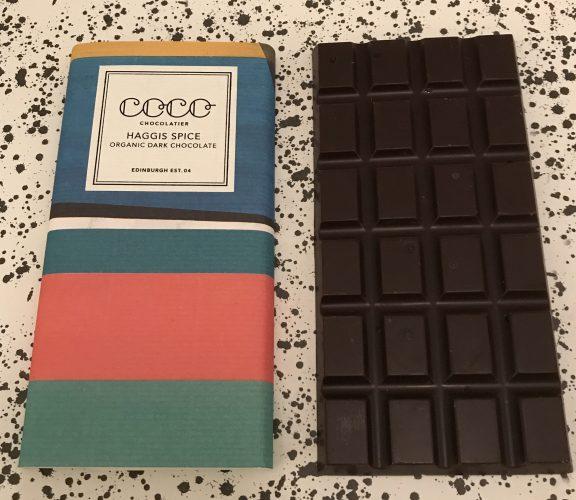 Coco Chocolatier Haggis Spice Chocolate