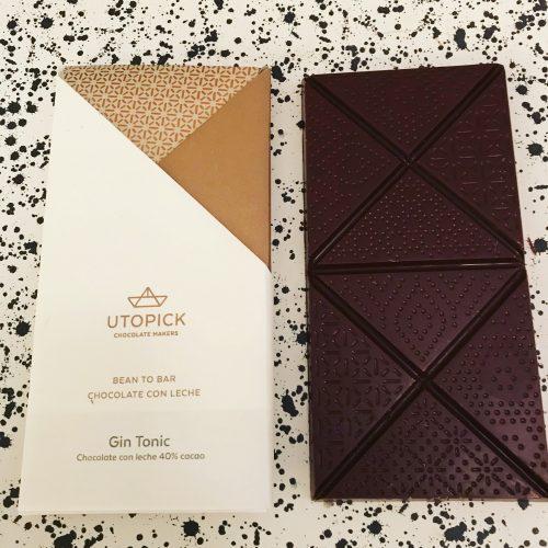 Utopick Gin and Tonic Chocolate