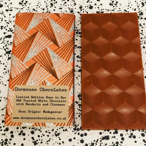 Dormouse Toasted White Chocolate with Mandarin and Cinnamon