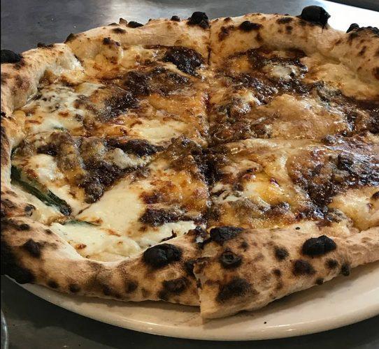 Ox Cheek Ragu Pizza, Flour + Ash, Bristol