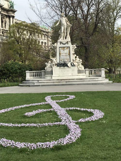 Mozart Statue in Vienna