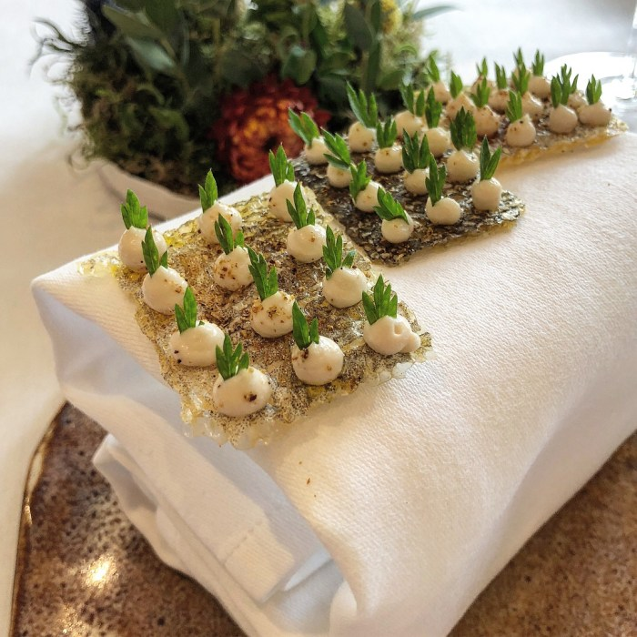 Crispy Cod Skin at Story Restaurant