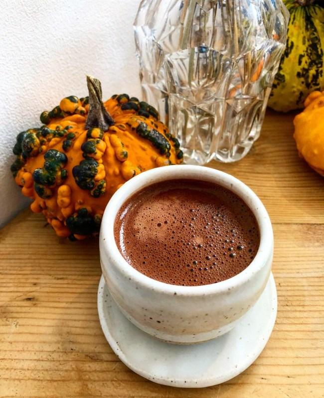 66% Brazil Hot Chocolate at Zara's Chocolate, Bristol